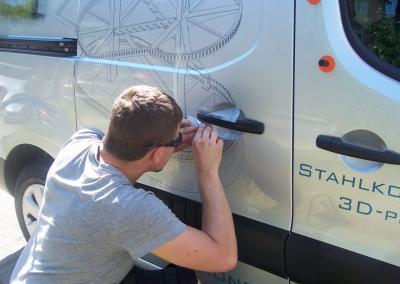 Beschriftung  Fahrzeugbeschriftung Autowerbung Dresden