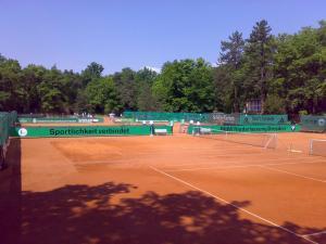 186-Werbebande Tennis