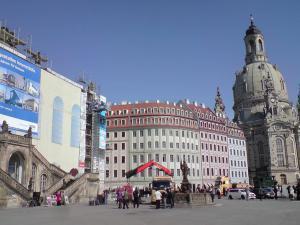 439-Verkehrsmuseum Frauenkirche Dresden-Plane