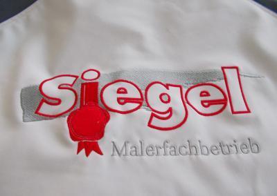 485_Stickerei Logo Siegel sticken