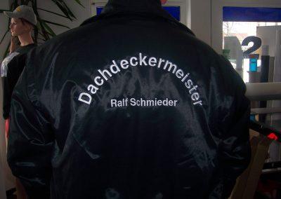 487_Jacke sticken Stickerei Dachdeckermeister Dresden
