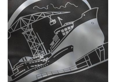Starlight_Ship Textildruck