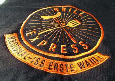Stickerei Dresden_Grillexpress Schuerze sticken