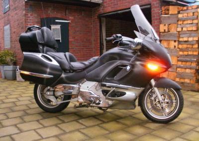 Motorrad BMW K 1200 LT_Carbonfolie schwarz
