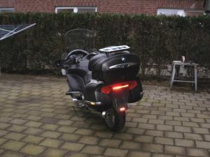Motorrad BMW Wrapfilm Carbon Black