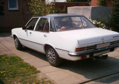 Opel Rekord Autofolie weiss
