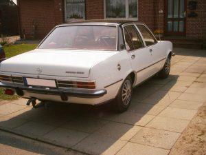 Opel Rekord Car Wrap White