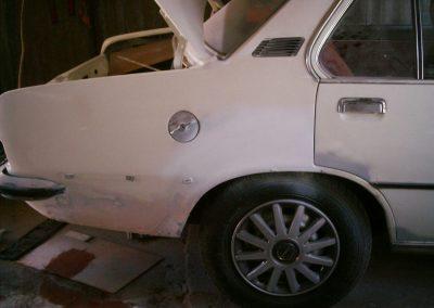 Opel Rekord vorher alt
