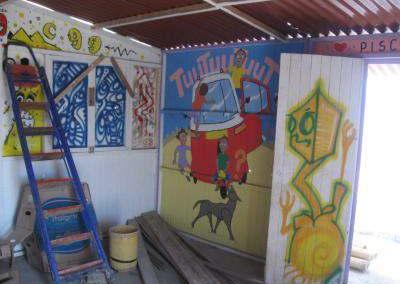Kindergarten-wird-gebaut-Pisco-Peru-Suedamerika