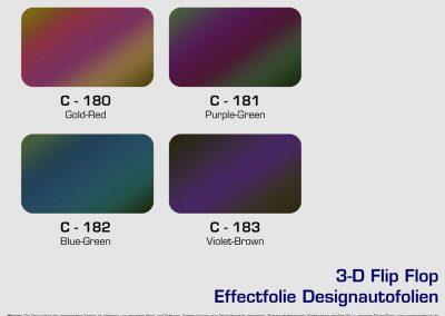 Farbkarte-Farbauswahl-Folie