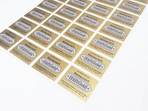 232-Aufkleber-Etikett-Gold-drucken
