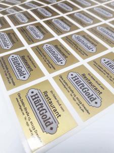 232-Aufkleber-Etikett-Gold-drucken-print-Druckerei-Dresden