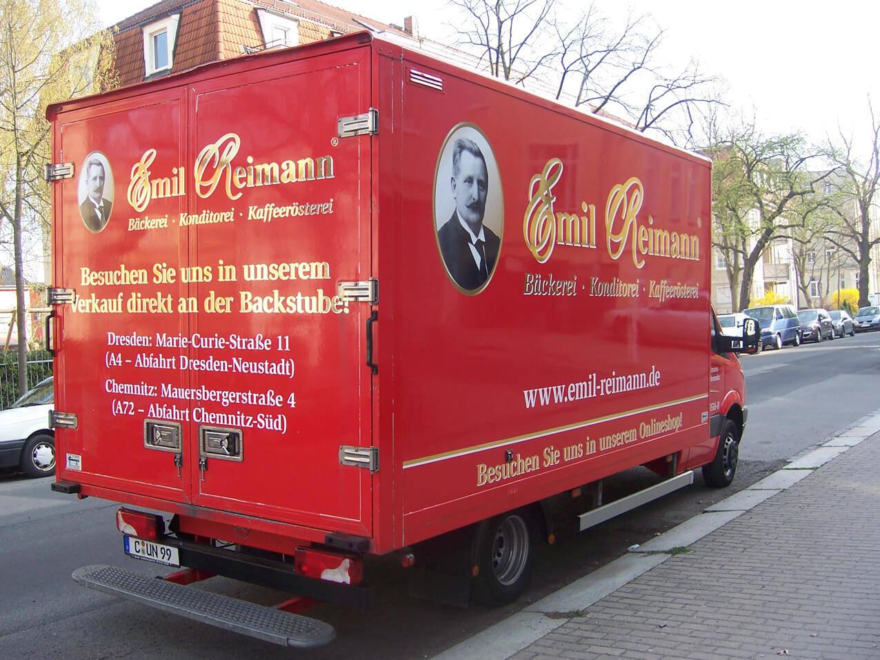 457-Emil Reimann LKW Beschriftung 2
