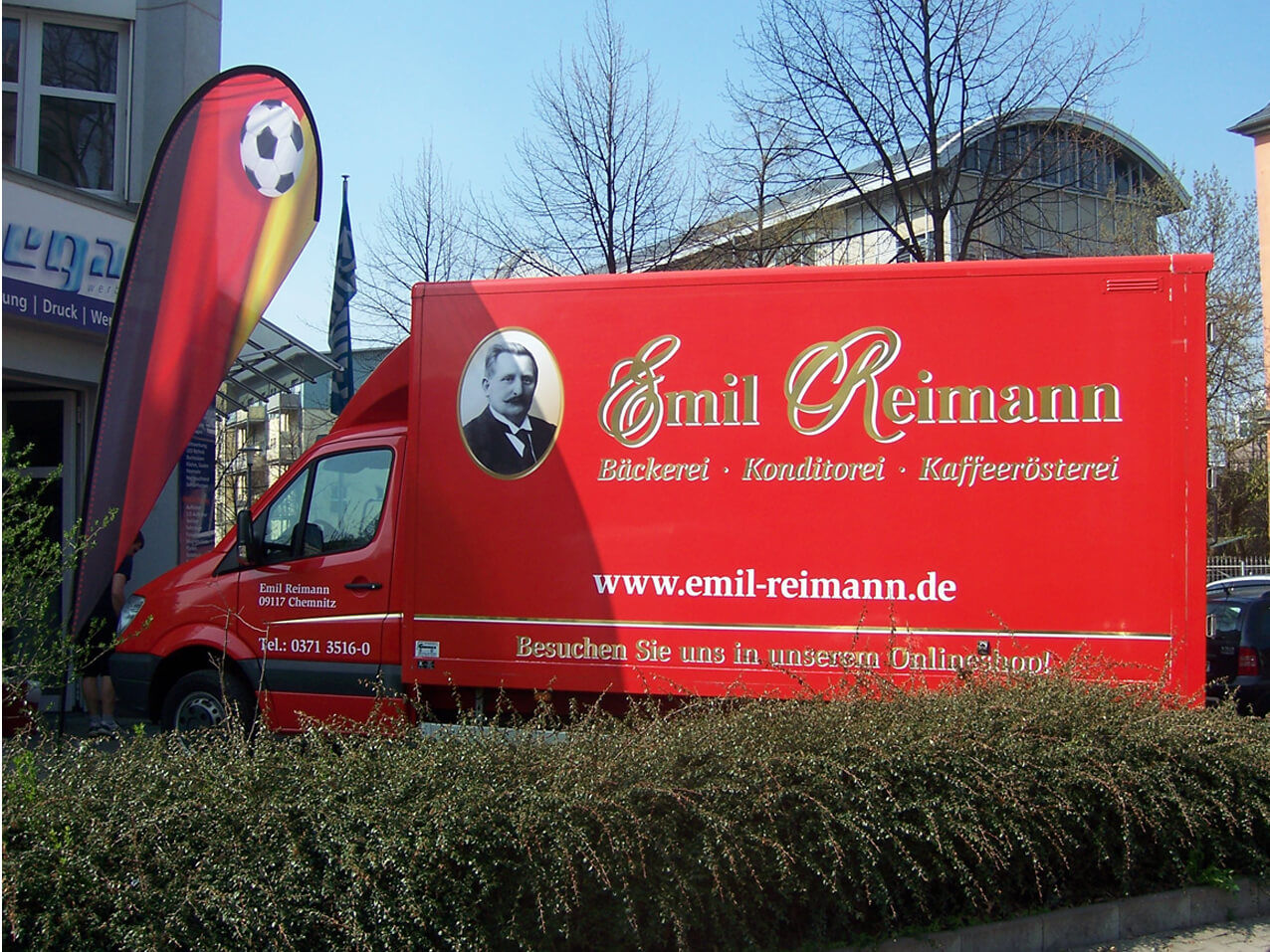 457-Reimann Transporter Beschriftung