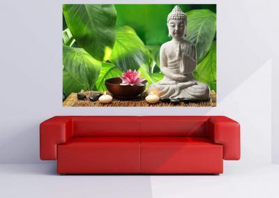504-Fototapete-Wall-Art-Tapete-Wandbild-Buddha-drucken