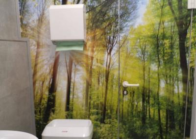 577-Toiletten-Türtapete-Wallart-Wald