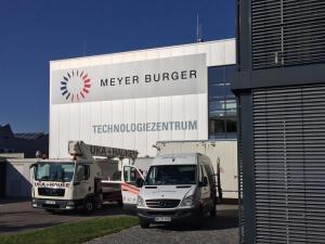 Meyer Burger Beschriftung