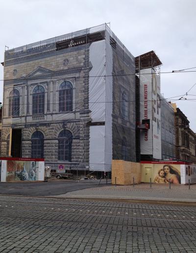 Zwinger Dresden Druck