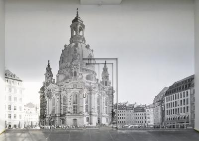 577-Wandtattoo-Wandbild-Tapete-bedruckt-drucken-Frauenkirche-Dresden-Neumarkt