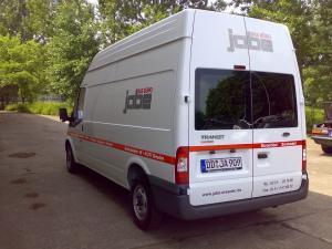 209-1-Jabe Buero-Fahrzeugbeschriftung Dresden