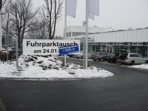 215-BMW Dresden-Banner mit Abwrackpraemie