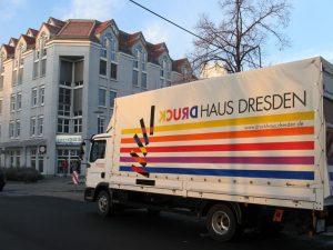 216-Druck Dresden-LKW Beschriftung