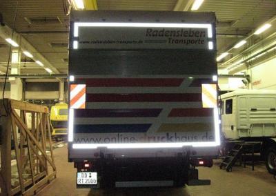 217-Druck Dresden-LKW Beschriftung mit Reflexfolie