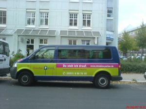 Sprinter Bus Vollflächen Verklebung