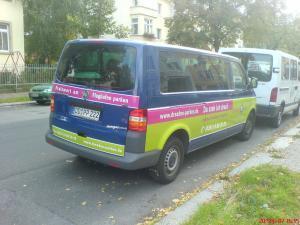 220-Dresden Parken-Transporter Werbung