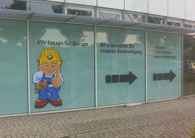 230-BMW Dresden-Fenster Aufkleber