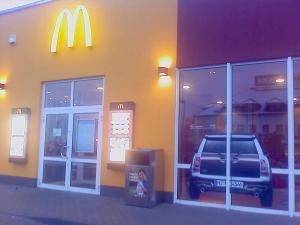 244-McDonald-Gorbitz-Mini Tür Aufkleber