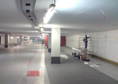 274_003--Tiefgarage An der Frauenkirche Dresden-Parkplatz Wand