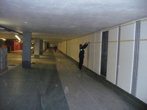 274_004--Tiefgarage An der Frauenkirche Dresden-Parkplatz Wand