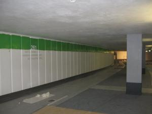 274_006-Tiefgarage An der Frauenkirche Dresden-Parkplatz Wandbeschriftung