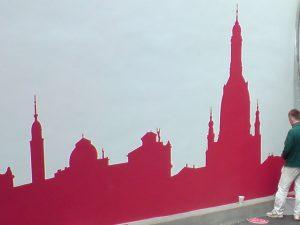 316-1-Schablonentechnik-Wandmalerei