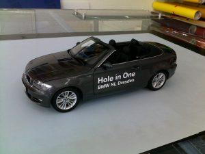 337-BMW Modell Beschriftung