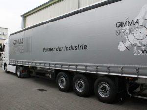345-Gamma Service-LKW Beschriftung 2