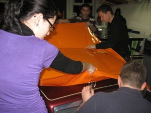 355-Folie Farbe-Wrapping