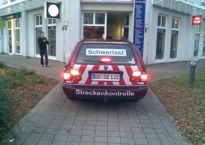 357-GBD Schwerlast-Transport-Beschriftung