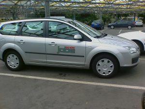 368-Jabe Buero-Auto Beschriftung Skoda