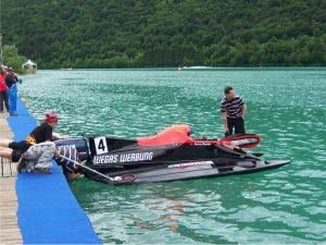 370-Beschriftung Marlin Bootsbeschriftung Flyer Sponsoring Werbung