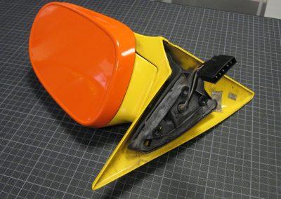 Fahrzeug Verklebung Folierung Carwrapping Folie Spiegel