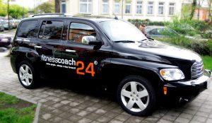 Verklebung-Wrapping-fitnesscoach24-Autoaufkleber
