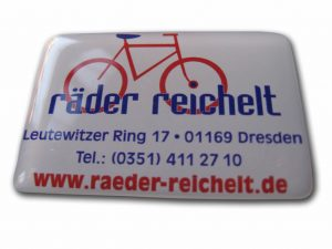 380-Doming Aufkleber Fahrrad