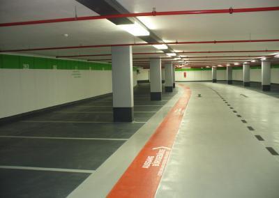 386-Markierung-Parkplatz-Tiefgarage-Dresden
