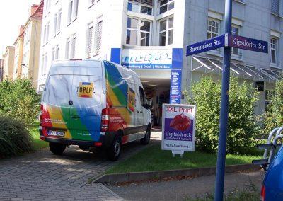 393-Klebewerkstatt Wegas Werbung