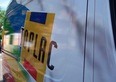 Fahrzeugbeschriftung mit Digitaldruckfolie