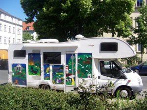 401-Wohnmobil Aufkleber
