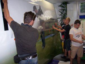 413-Golfclub Golfpark Tharandt-Klebetechniker