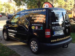 Beschriftung VW T5 Fahrzeugbeschriftung Dresden